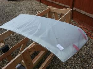Ford Capri BRONZE Windscreen mk1-3