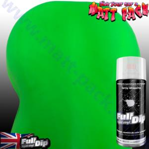 FullDip 400 ml Aerosol - FLUORESCENT GREEN (fld400)