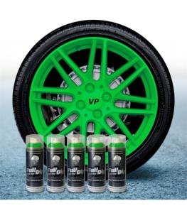 FullDip Wheel Kit - LIME GREEN - Matte