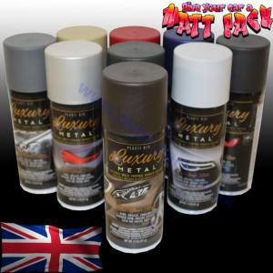 PlastiDip® Luxury Metal Colour Aerosol Range