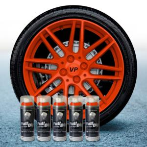 FullDip Wheel Kit - ORANGE - Matte