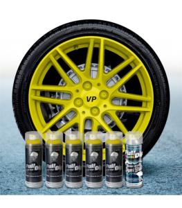 FullDip Wheel Kit - YELLOW - Gloss