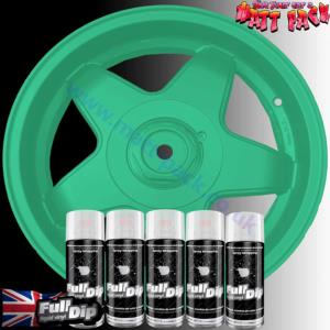 FullDip Wheel Kit - Metallic - PARADISE GREEN - Matte