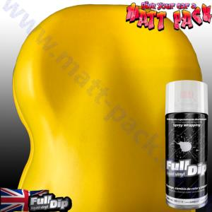 FullDip 400 ml Aerosol - Solid YELLOW (fld006)