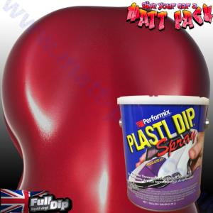 FLAME RED 1 US Gallon PDS PlastiDip®
