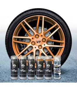 FullDip Wheel Kit - Pearl - ORANGE CANDY - Gloss