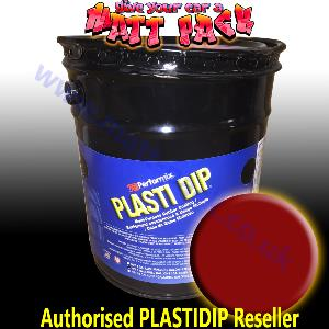 RED 5 US Gallon Pure PlastiDip®