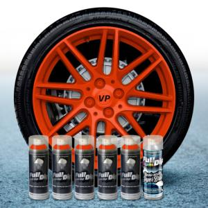 FullDip Wheel Kit - ORANGE - Gloss