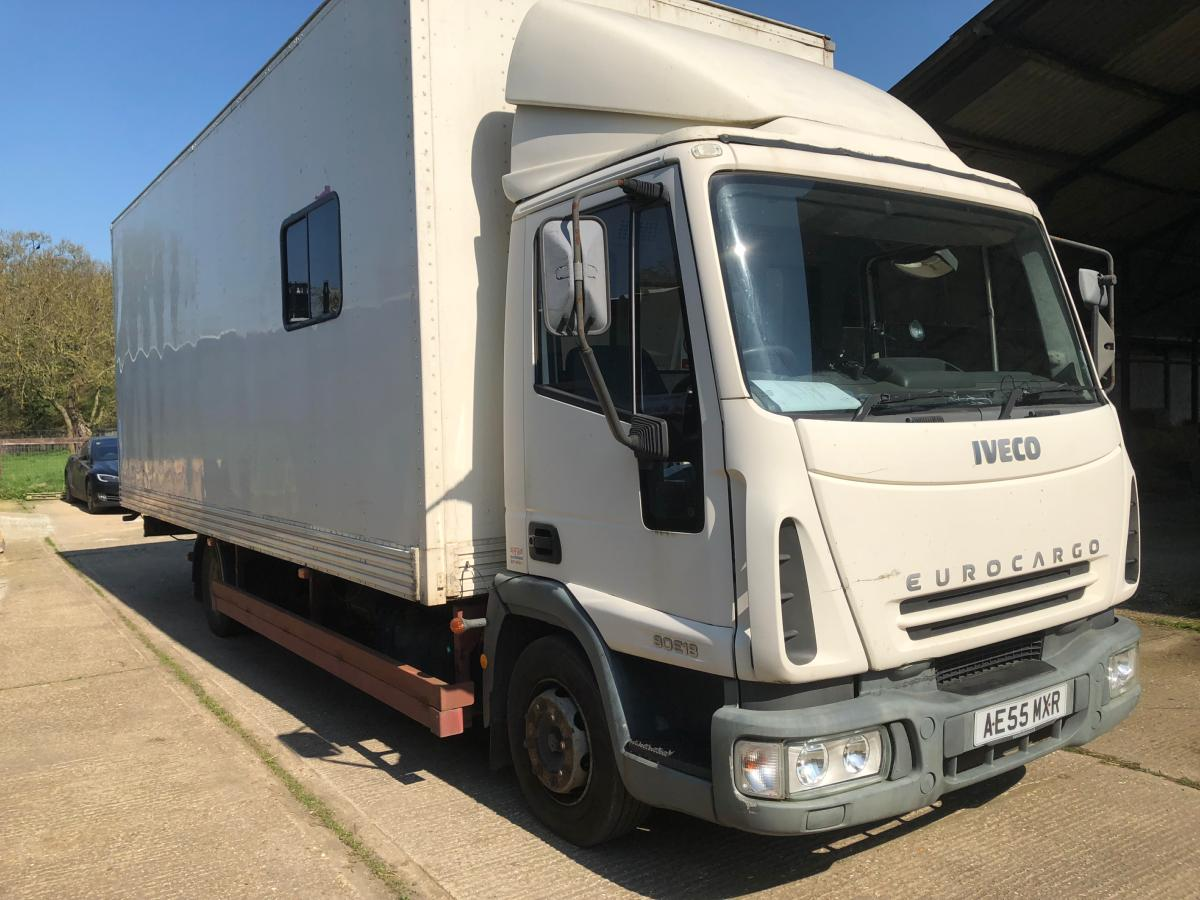 Iveco Truck Race Car Transporter Motor Home Conversion