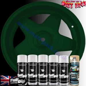 FullDip Wheel Kit - Metallic - DARK CAMO GREEN - Gloss