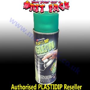 PlastiDip Glow In The Dark GREEN Matte Aerosol