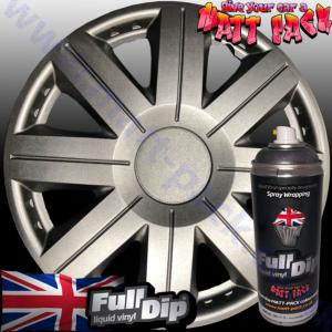 FullDip Wheel Kit - Matt-Pack - ALUMINIUM SILVER - Matte