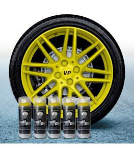 FullDip Wheel Kit - YELLOW - Matte