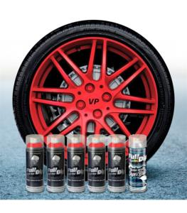 FullDip Wheel Kit - Metallic - RED - Gloss