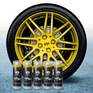FullDip Wheel Kit - Metallic - YELLOW - Matte