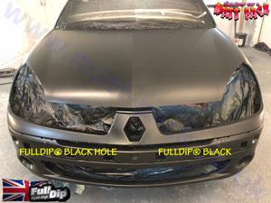 FullDip Black vs Black Hole (Shadow Black)