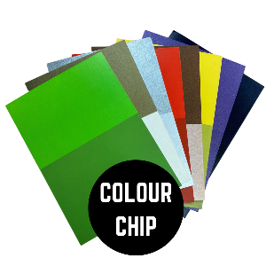Samples of colours - Colour Chip