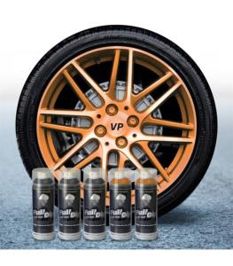 FullDip Wheel Kit - Pearl - ORANGE CANDY - Matte