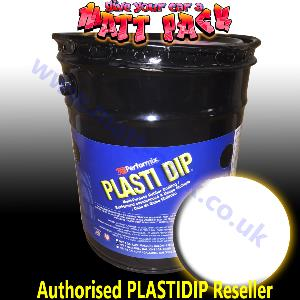 WHITE 5 US Gallon Pure PlastiDip®