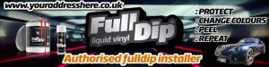 CUSTOM Authorised FullDip Installer Banner