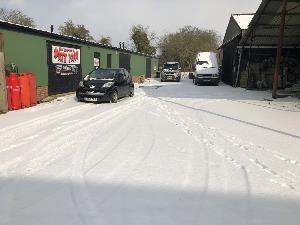 Snow still causing issues